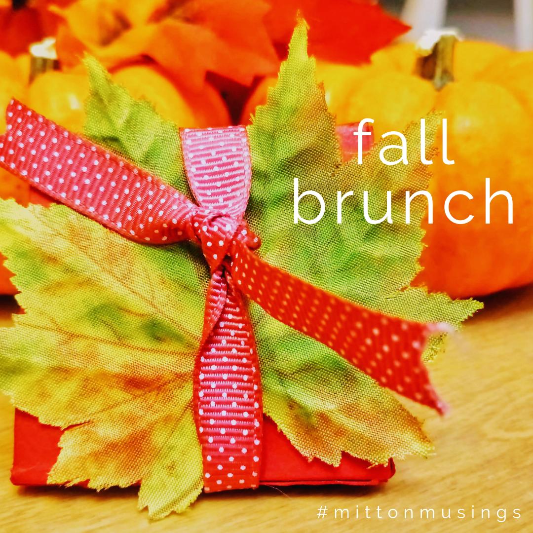 fall brunch