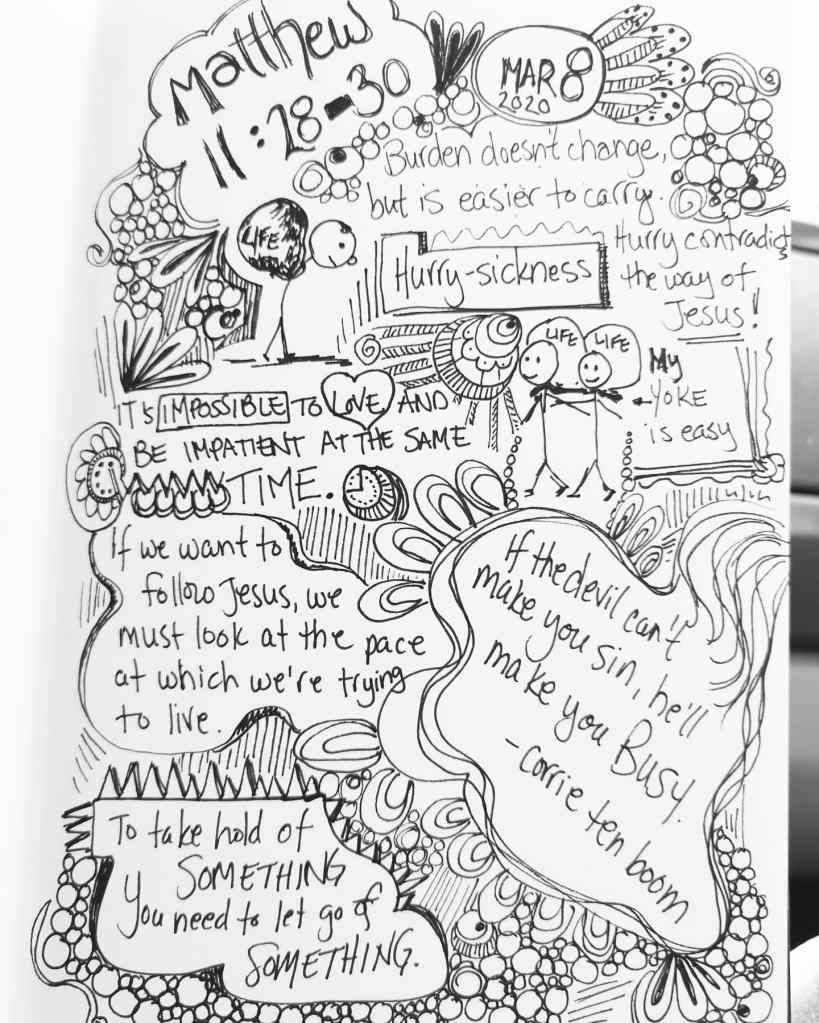 Is it Okay to Doodle in Church? Thoughts from a guest blogger!